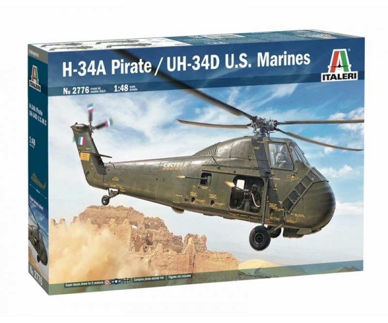 HUS-1 Sea Horse / UH-34D 1:48 Plastikbausatz