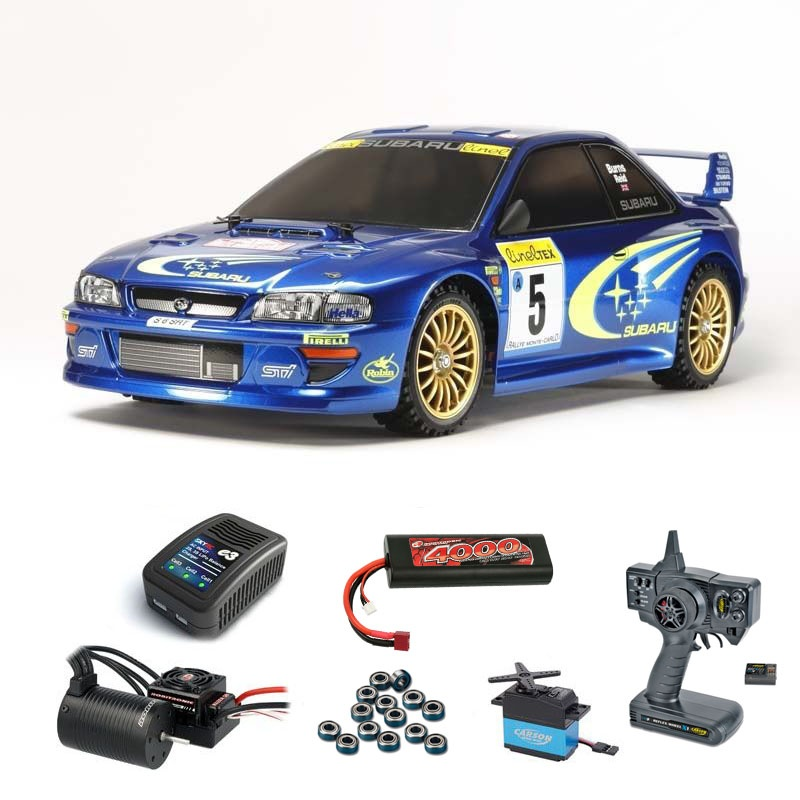 Subaru Impreza MC99 1:10 Brushless-Edition Komplett-Set