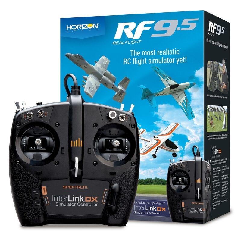 RF 9.5 Flugsimulator mit Interlink Controller