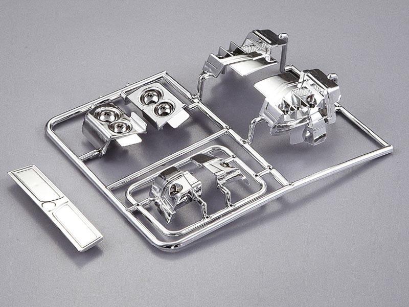 Lancia Delta HF Integrale Chrom Teile Set