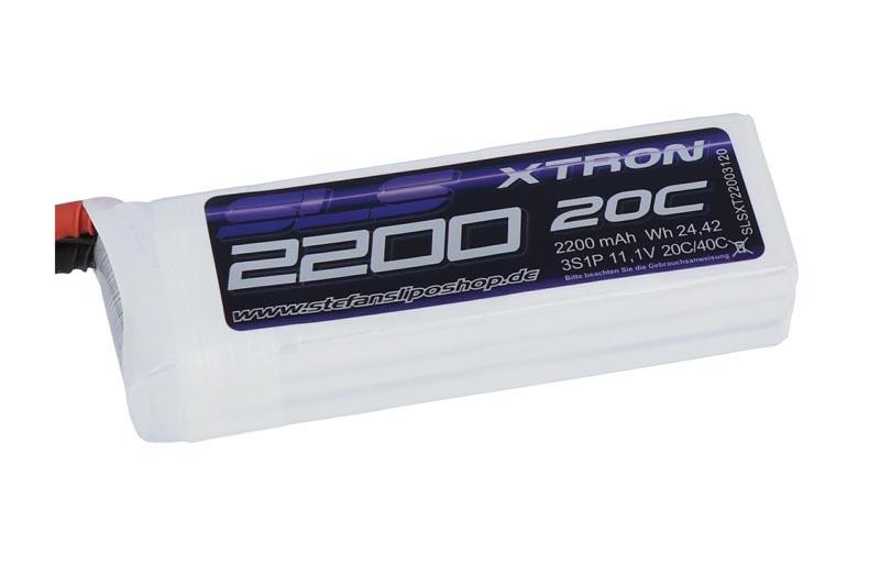 XTRON 2200mAh 3S1P 11,1V 20C/40C