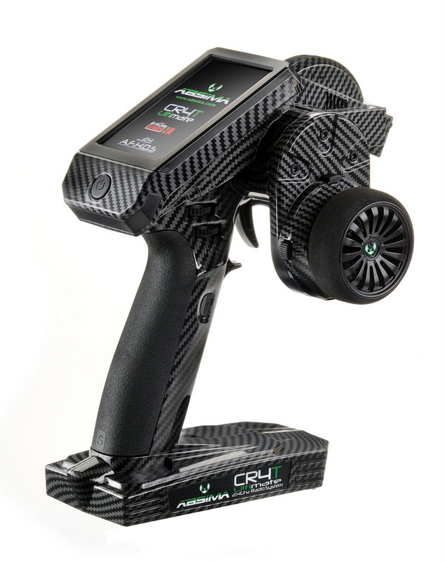 CR4T Ultimate Carbon 4-Kanal Fernsteuerung inkl. 2 Empfänger