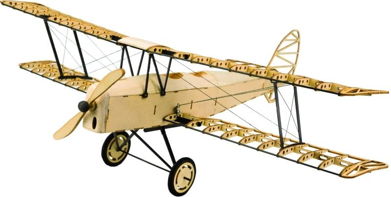 D.H.82 Tiger Moth Flugmodell 400mm Holzbausatz