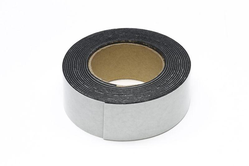 Doppelseitiges Tape / Klebeband 20mm (2m) schwarz