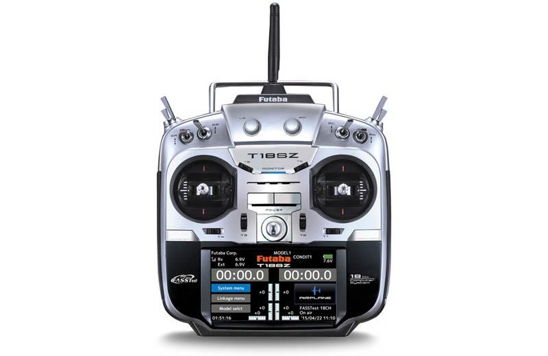 T18SZ 18-Kanal Fernsteuerung mit R7008SB 2,4GHz FASSTest M1