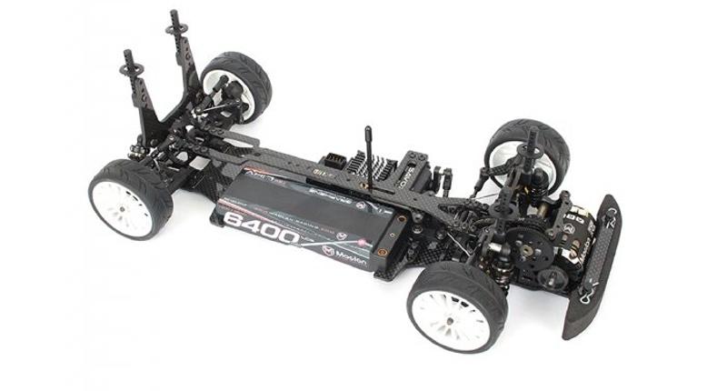 R11F 1:10 Tourenwagen FWD Kohlefaser Chassis Bausatz