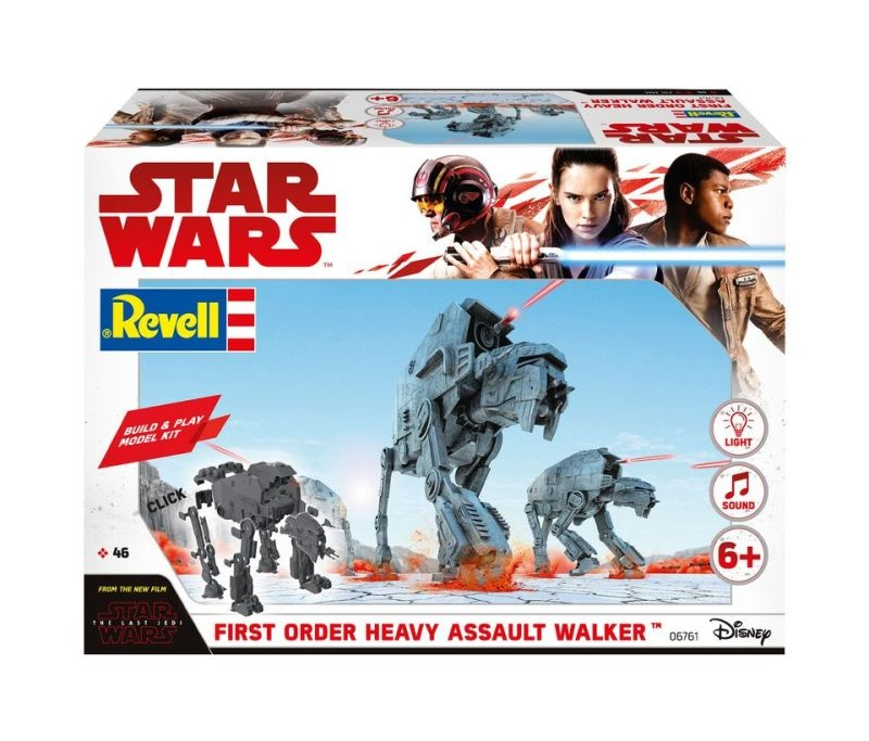 STAR WARS First Order Heavy Assault Walker - Build and Play