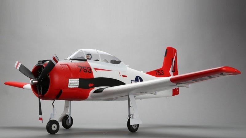 T-28 Trojan 1,2m Warbird BNF Basic