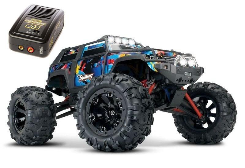Summit 4WD Monstertruck 1/16 Licht RocknRoll RTR+ 230V Lader