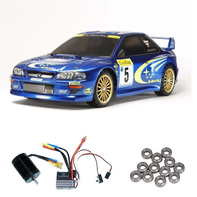 Subaru Impreza MC99 (TT-02) 1:10 Brushless-Edition + Lager