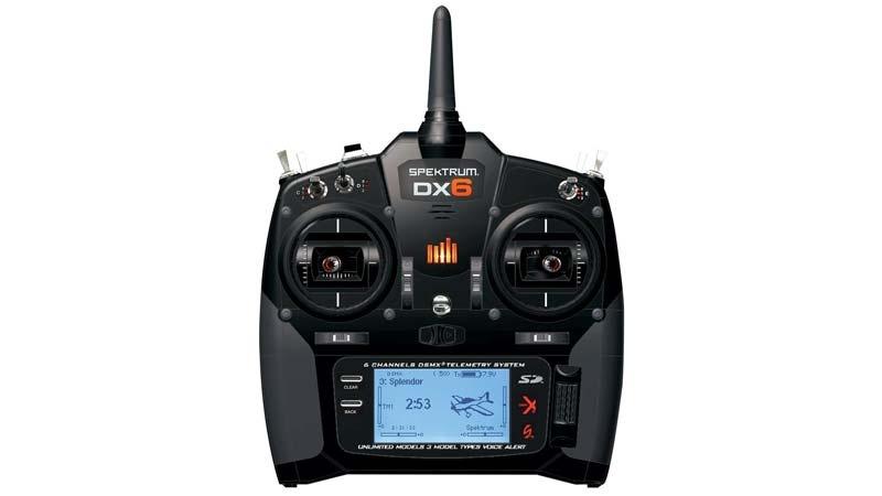 DX6 DSMX 6-Kanal Fernsteuerung Einzelsender
