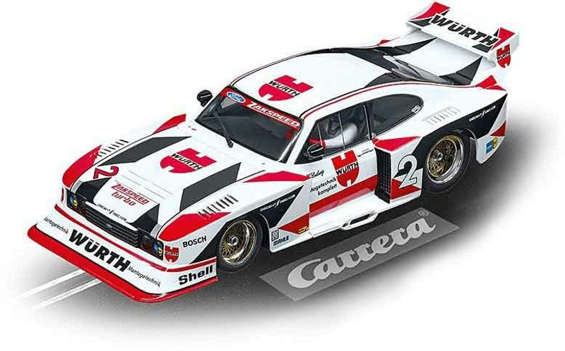 Digital 124 Ford Capri Zakspeed Turbo Würth-Zakspeed Team #2