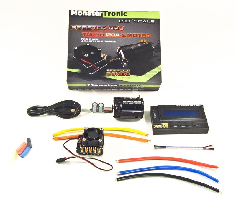 Brushlesscombo Sensor Regler Motor 10,5T