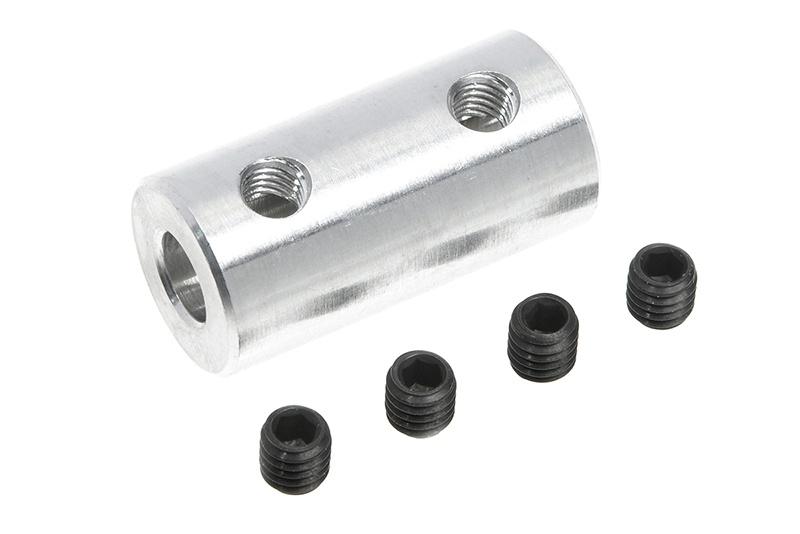 Aluminium Wellenkupplung 3.2/4mm