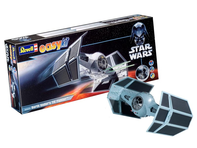 Darth Vaders TIE Fighter 1:57