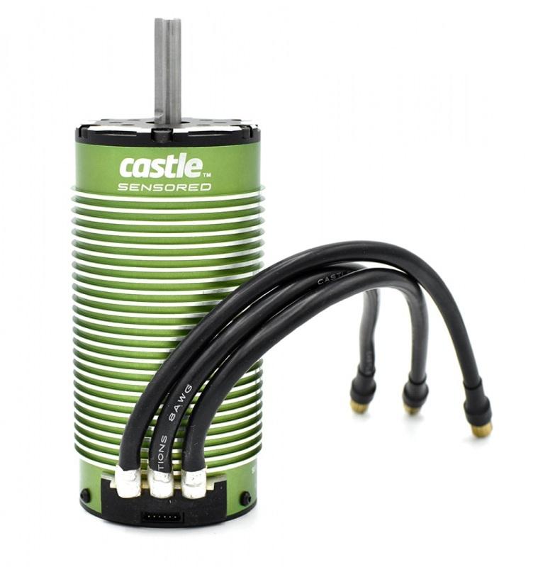 Brushless Motor 2028 - 1100KV - 4-Polig - Sensored
