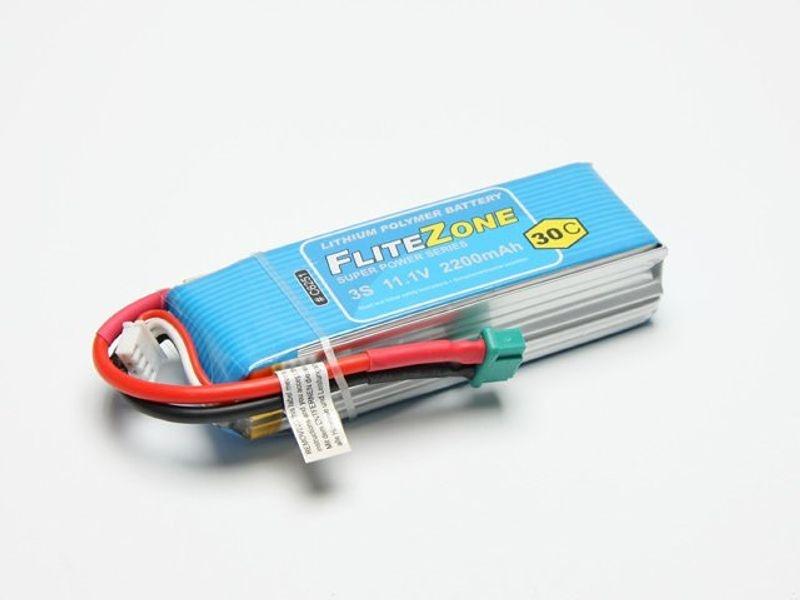 LiPo Akku FliteZone 2200 - 11,1V + MPX