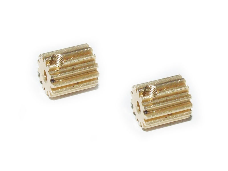 Motor Pinion Gears 13T + screws (Dune/Stadium Racer) (2pcs)