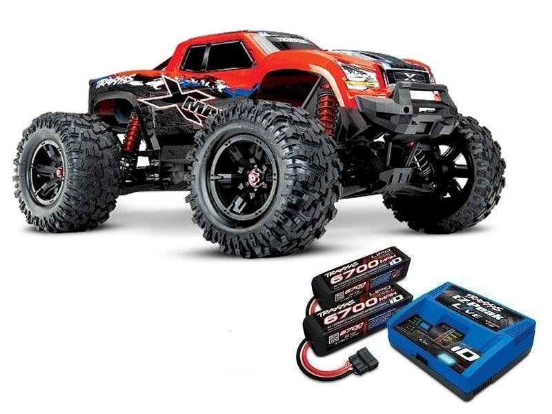 X-MAXX 8S 4WD Brushless Monstertruck redX, LiPos und Lader