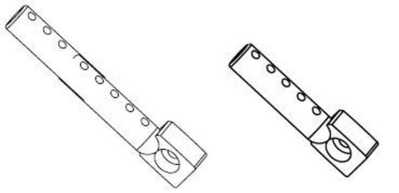 Karosseriehalter-Set 4+4