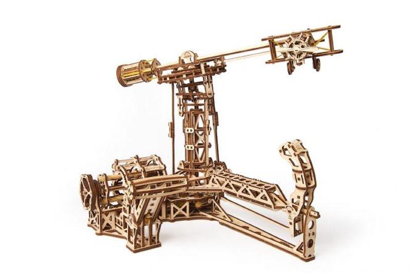 Aviator - mechanischer 3D Holzbausatz