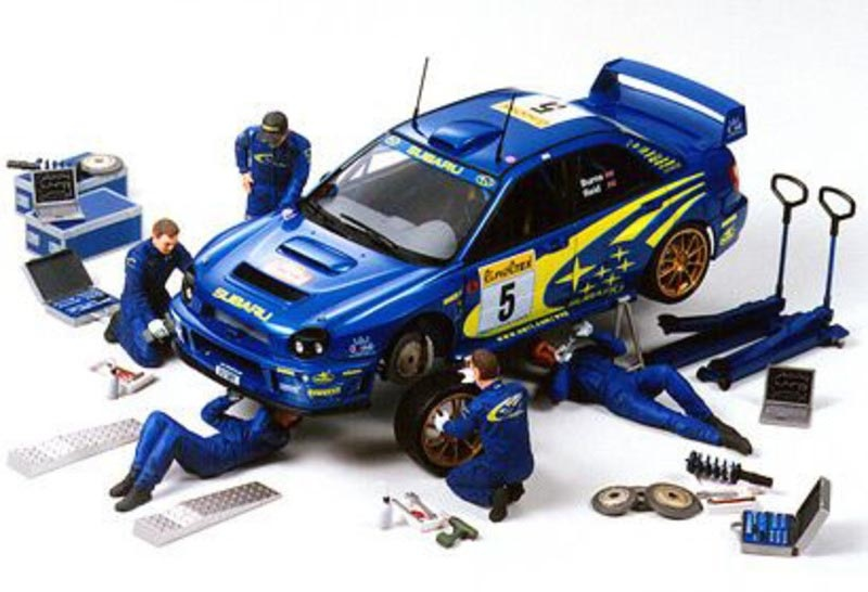 Figuren-Set Rally Mechaniker 1:24 (5)