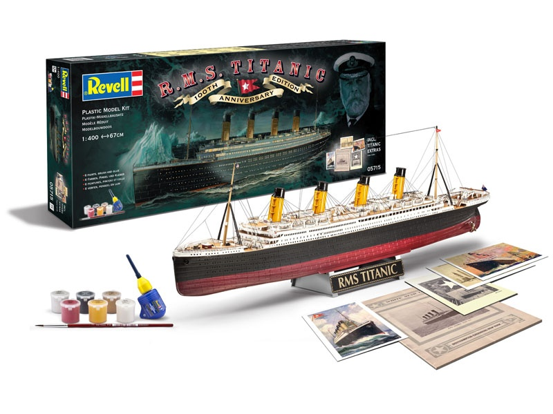 Geschenk-Set 100 Jahre TITANIC 1:400