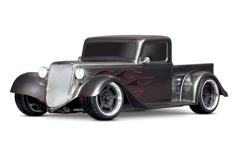 4Tec 3.0 Factory Five 35 HotRod-Truck rot RTR 1/9 silber