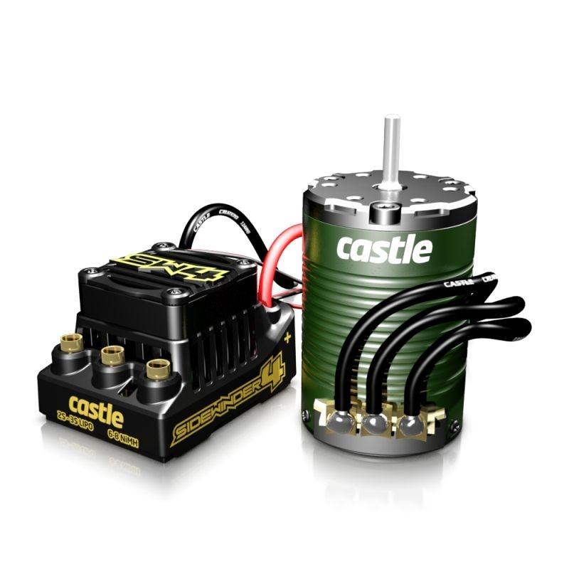 Sidewinder 4 WP SCT 12,6V ESC mit 1410-3800kV Motor (3,17mm)