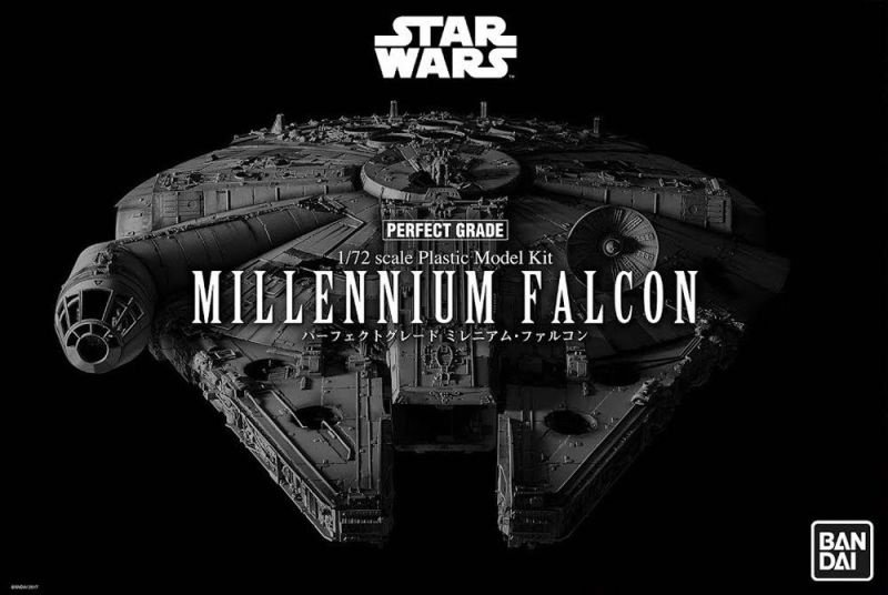 BANDAI Star Wars Millennium Falcon Perfect Grade 1/72