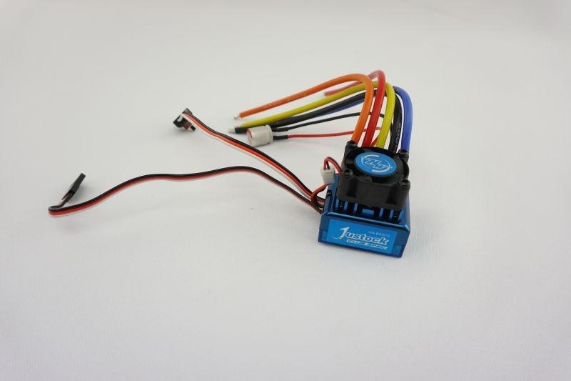 Justock Blue 1:10 sensored Brushless Regler 45A