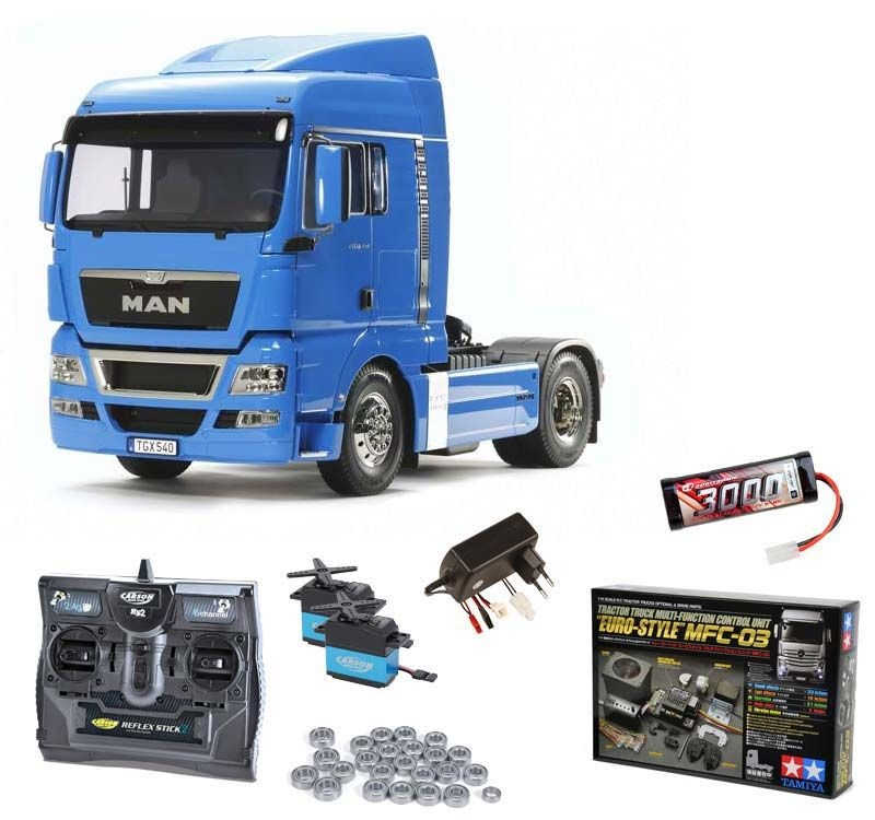 MAN TGX 18.540 4x2 XLX - French Blue Komplettset +MFC, Lager