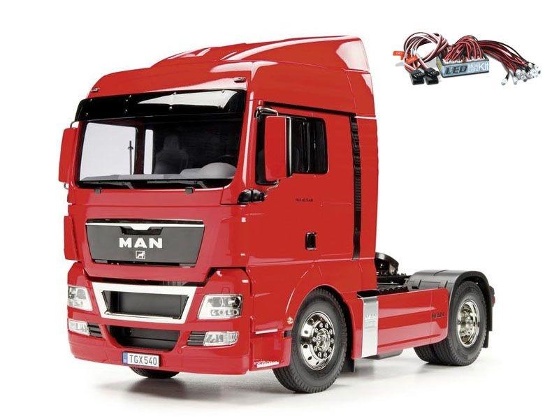 Truck MAN TGX 18.540 XLX 4x2 2-Achs 1:14 + LED-Lichtset