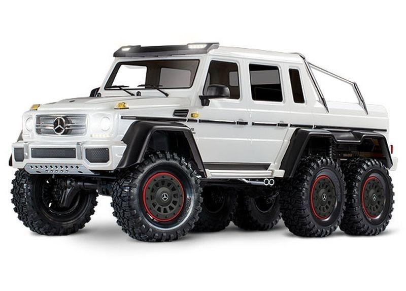 Mercedes-Benz G63 AMG 6x6 RTR 1/10 6WD Crawler Weiß