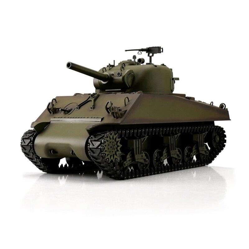M4A3 Sherman grün BB+IR 1:16 RC Panzer 2,4GHz RTR
