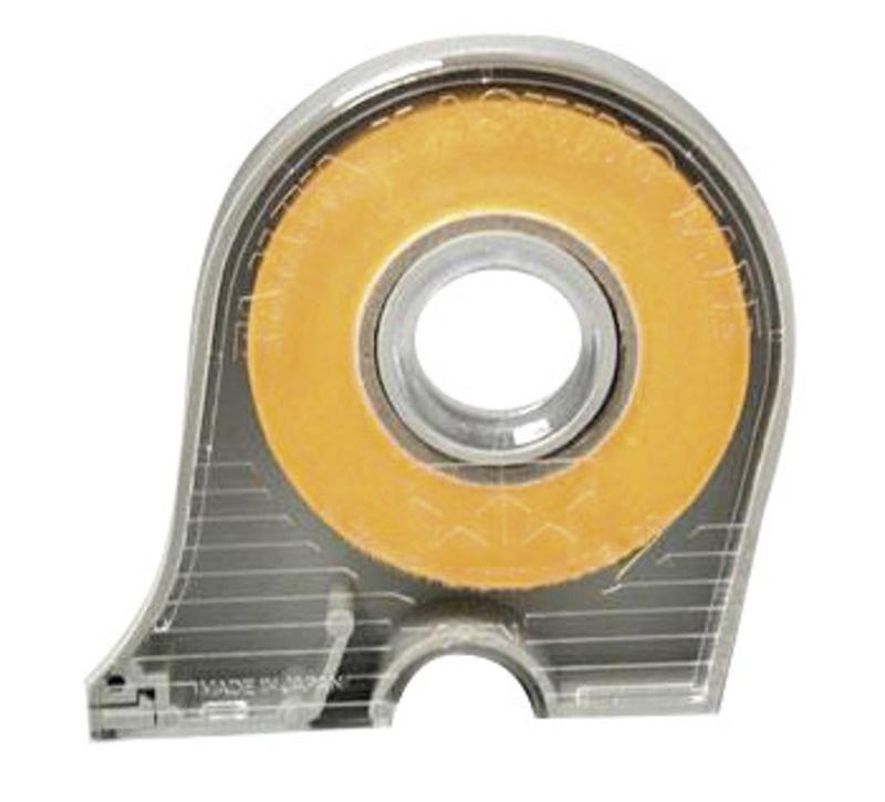 Masking Tape Breite 10mm - 18m Rolle mit Abroller Tamiya