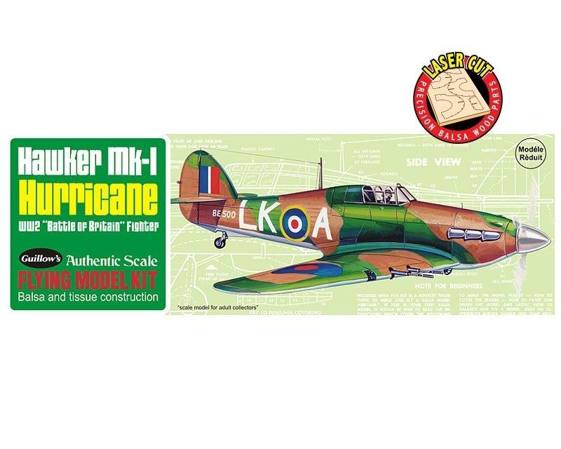 Hawker Hurricane Balsabausatz