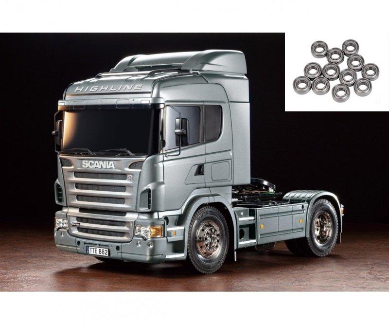 Scania R470 Silber 1:14 RC Truck Bausatz inkl. Kugellager