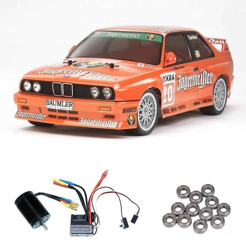 BMW M3 Sport Evo Jägermeister TT01E Brushless-Edition +Lager