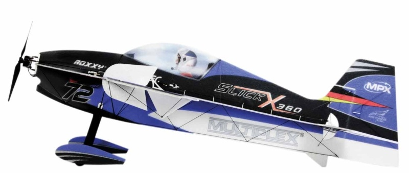 BK Slick X360 4D Kunstflugmodell 860mm Indoor Edition, blau