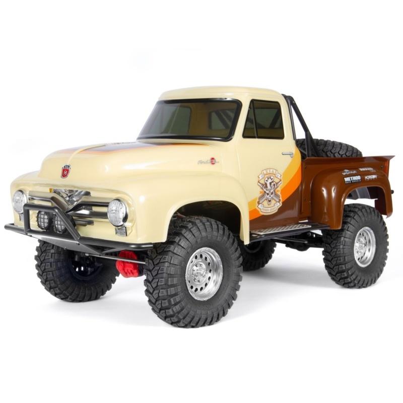 SCX10 II 1955 Ford F-100 4WD Offroad Truck 1/10 RTR, braun