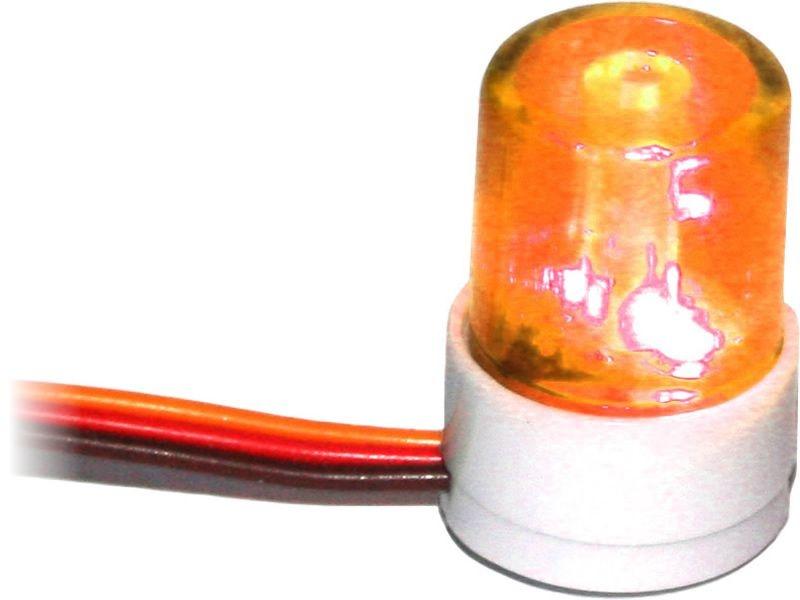 Dach Blinklicht orange V5 für 1/10 Tourenwagen und Drifter