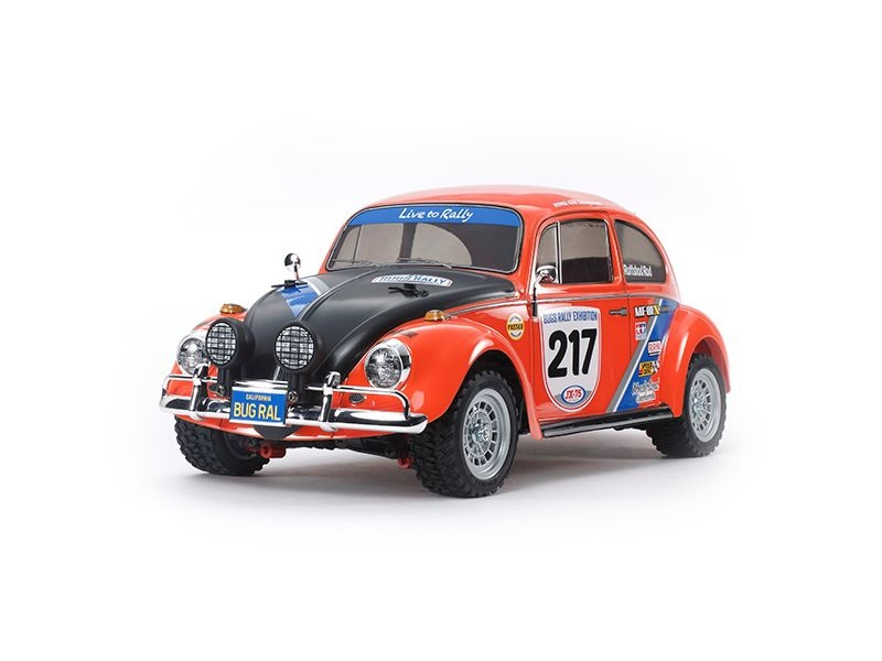 VW Beetle Rally MF-01X 4WD 1:10 High Performance Rally Car