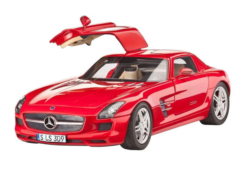 Mercedes-Benz SLS AMG 1:24