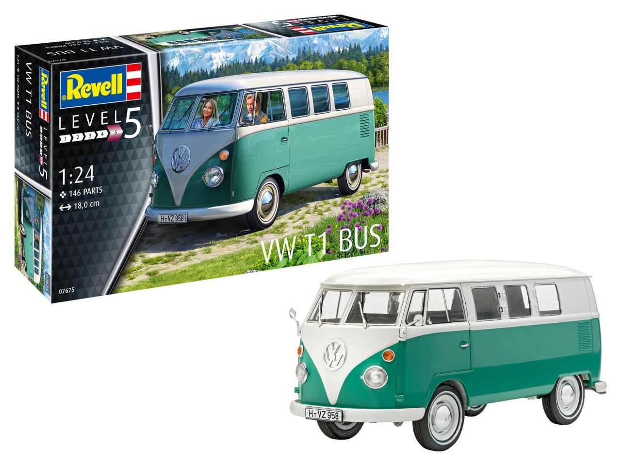 Model Set VW T1 Bus Bausatz 1:24