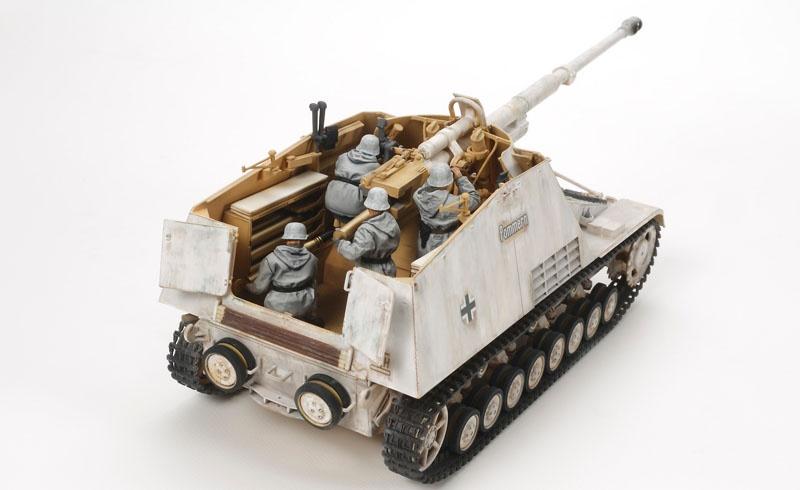 1:35 WWII Dt. Panzerjäger Nashorn (Hornisse)