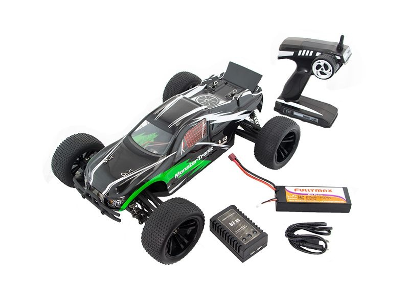 Blaster 1:10 Brushless Truggy 4WD  RTR+LiPo/Lader bis 70km/h