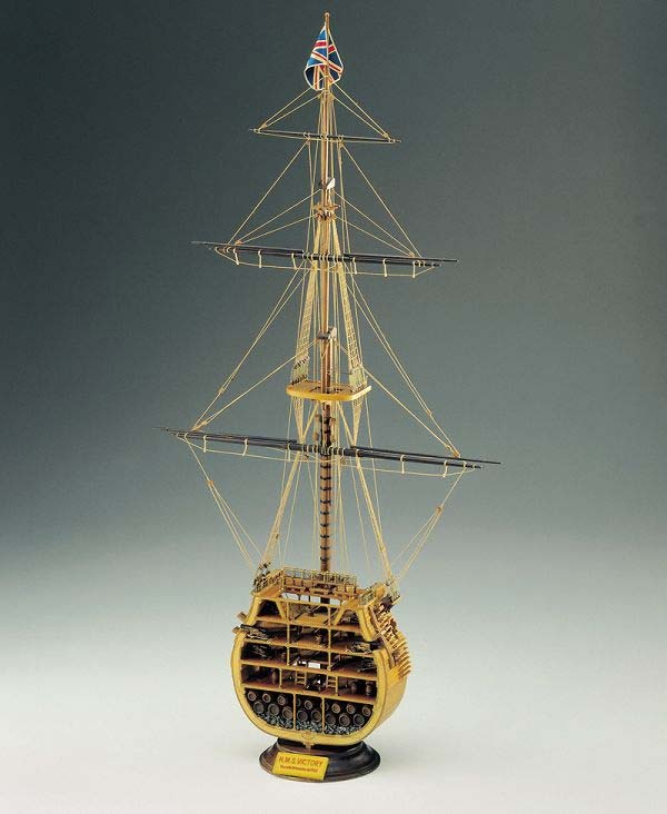 HMS Victory-Mast 1:98 Baukasten