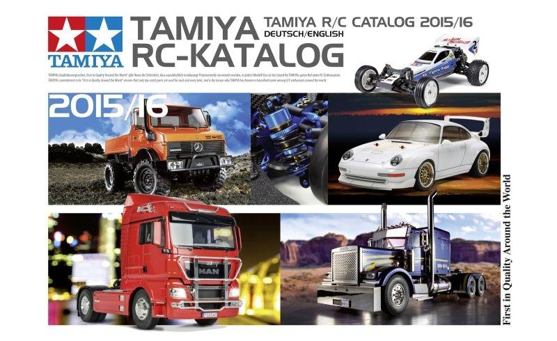 TAMIYA RC Katalog 2015 DE/EN