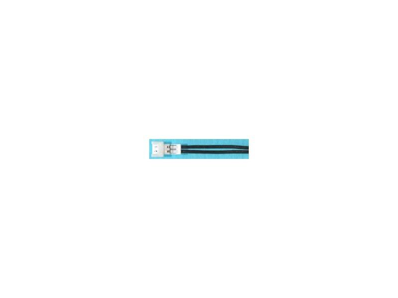 Akkugegenkabel, 2-pol. PicoBlade, 0,08 mm², schwarz/schwarz,